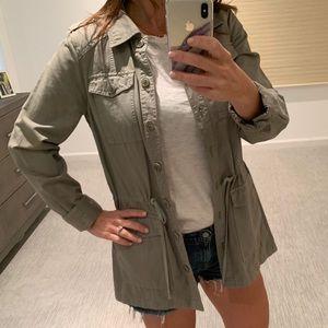 NWOT- Wearmaster/Madewell - Lt green khaki jacket